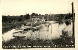 power House on the Betsie River Postcard
