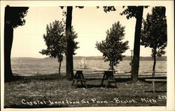 Crystal Lake From the Park Postcard