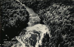 Aerial View of Tahquahenon Falls
