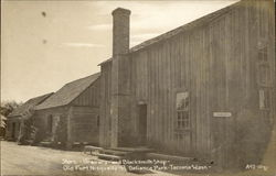 Store, Grainery and Blacksmith Shop, Old Fort Nisqually, Pt. Defiance Park