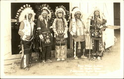 Native American Chiefs In Full Dress