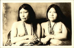 Two Eskimo Sisters - Nude, Topless