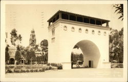 The Arch Way - California Pacific International Exposition 1935