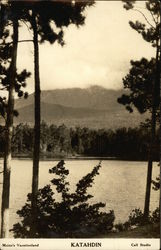 Mount Katahdin, Maine's Vactionland
