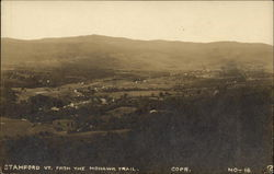 View of Stamford, Vermont from the Mohawk Trail