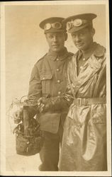 Two Cyclists of the 6th Cyclist Battalion Sussex Regiment
