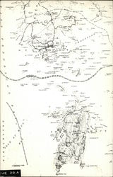 Map of Stonington and Isle Au Haut, Eastern Maine