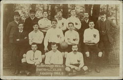 Harringay Guild Football Club, Season 1905,6