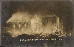 Burning of School Building