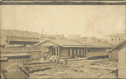 Louisville and Nashville Railroad Station Debris