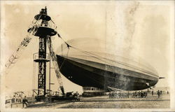 The German Airship 'Graf Zeppelin'