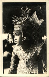 Balinese Dancer in Full Dress