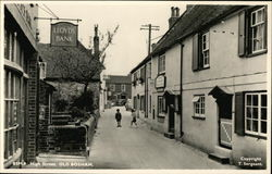 high Street, Old Bosham Postcard