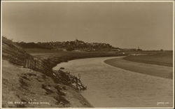 Town and Brede River Postcard