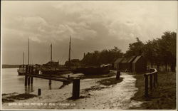 By The Rother River at Rye Postcard