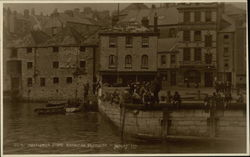 Mayflower Stone Barbican Postcard
