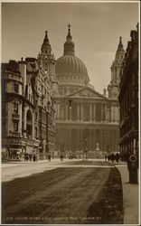 St. Paul's Cathedral and Ludgate Hill