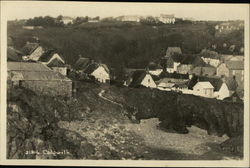 View of Village Postcard