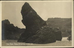 The Toad Rock, Kynance Cove