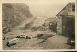 Church Cove Postcard