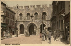 Bargate Postcard