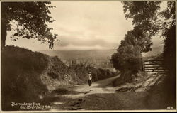 Barnstaple from Old Bideford Rd. Postcard