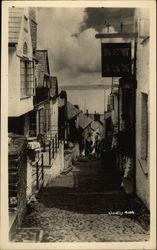 Street with Steps Postcard