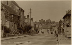 High Street, Steyning Postcard