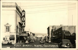 First Street, Fox Theater