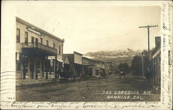 1907 View of San Gorgonia Avenue