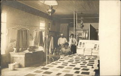 Tailor Shop Interior - Black Workers