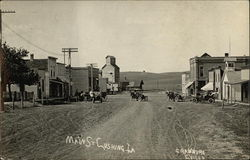 Vintage View of Main Street