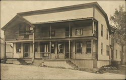 Union Hotel with Two Stories and a Porch