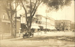 Main St. with Auto Postcard