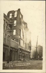 Collapse of the Shannon Building