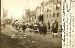 School Children in Carnival Parade