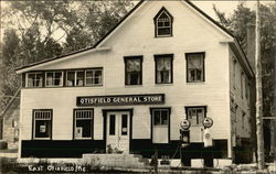 Otisfield General Store, Mobil Globe Gas Pumps