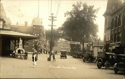 Main Street in Tilton, New Hampshire in 1924