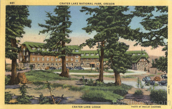 Crater Lake Lodge, Crater Lake National Park