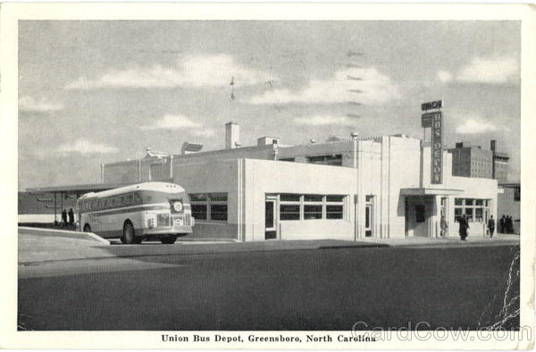 Union Bus Depot Greensboro North Carolina