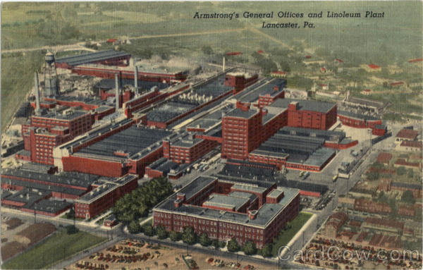 Armstrong's General Offices And Linoleum Plant Lancaster Pennsylvania