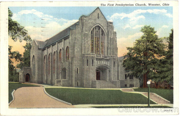 The First Presbyterian Church Wooster Ohio
