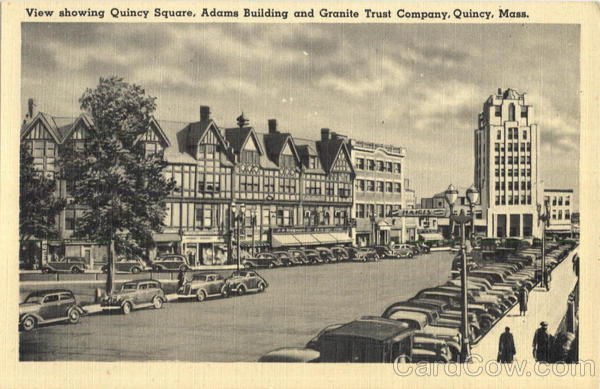 View Showing Quincy Square Massachusetts