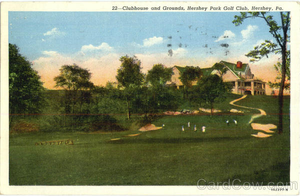 Clubhouse And Grounds, Hershey Park Golf Club Pennsylvania