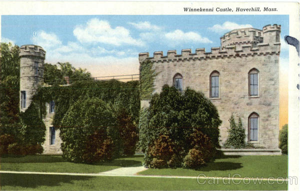 Winnekenni Castle Haverhill Massachusetts