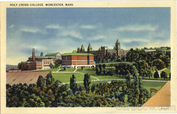 Holy Cross College Worcester Massachusetts