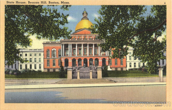 State House, Beacon Hill Boston Massachusetts