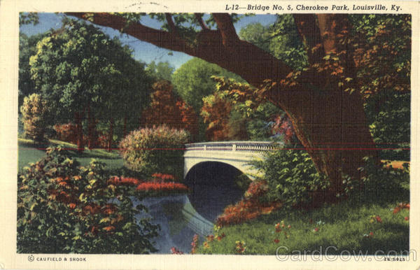 Bridge No. 5, Cherokee Park Louisville Kentucky