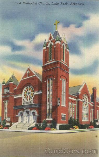 First Methodist Church Little Rock Arkansas