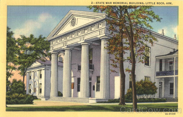 State War Memorial Building Little Rock Arkansas